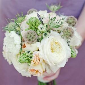 Vintage Style Bridesmaid Bouquet