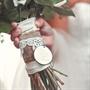 Personalized Bridal Bouquet Charm