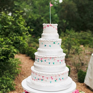 Colorful Flag Cake