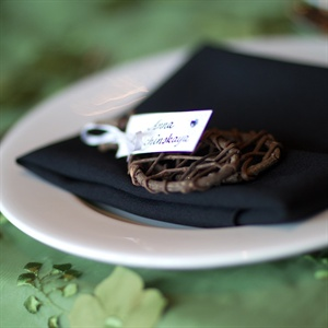 Miniature Snowshoe Place Cards
