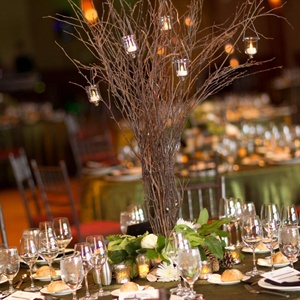 Rustic Branch Centerpieces