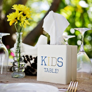 Kids Table Decor