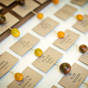 Heirloom Tomato Escort Cards