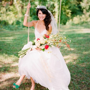 Elaya Vaughn Custom Wedding Gown
