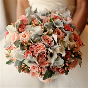 Vintage-Inspired Bridal Bouquet