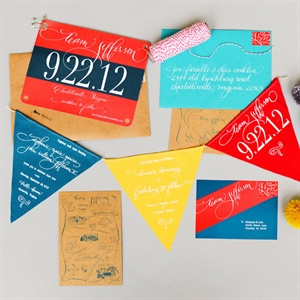 Racing Themed Invitations