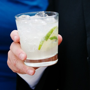 The Leroy Brown signature cocktail was actually a Moscow Mule. The drink was very special to the couple because they named it after their dog!