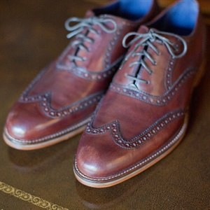 Groom's Wingtip Oxfords