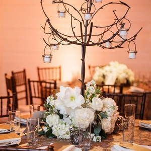Rustic Iron Centerpiece