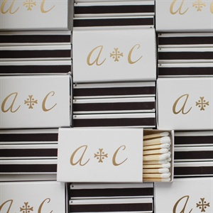 Personalized Monogram Matchbooks