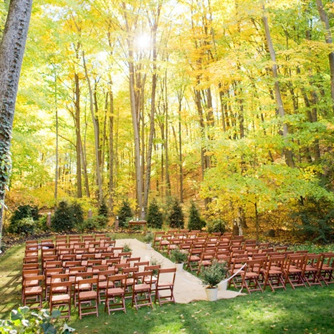 Wooded Outdoor Ceremony Site