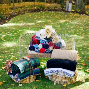Cozy Blankets for Guests
