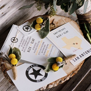 Texas Style Wedding Invitations