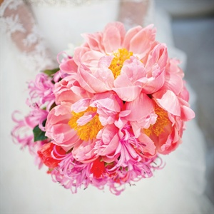 Pink Rose and Lily Bouquet