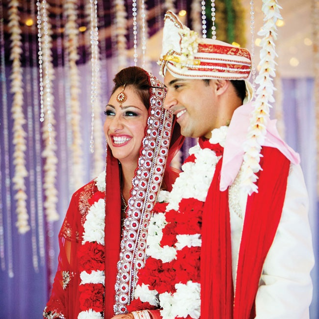 The couple wore the