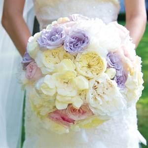 Lush Pastel Bridal Bouquet