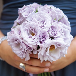 Lavender Rose Bridesmaid Bouquets