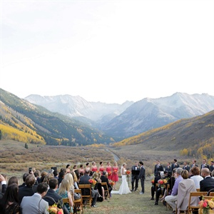 Aspen Outdoor Ceremony Site