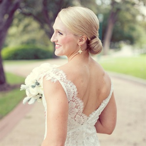 Sophisticated Bridal Chignon