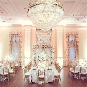 Romantic Fairy-Tale Reception Decor