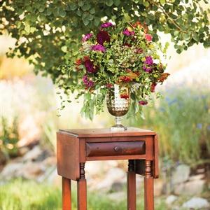 Magenta Floral Centerpiece