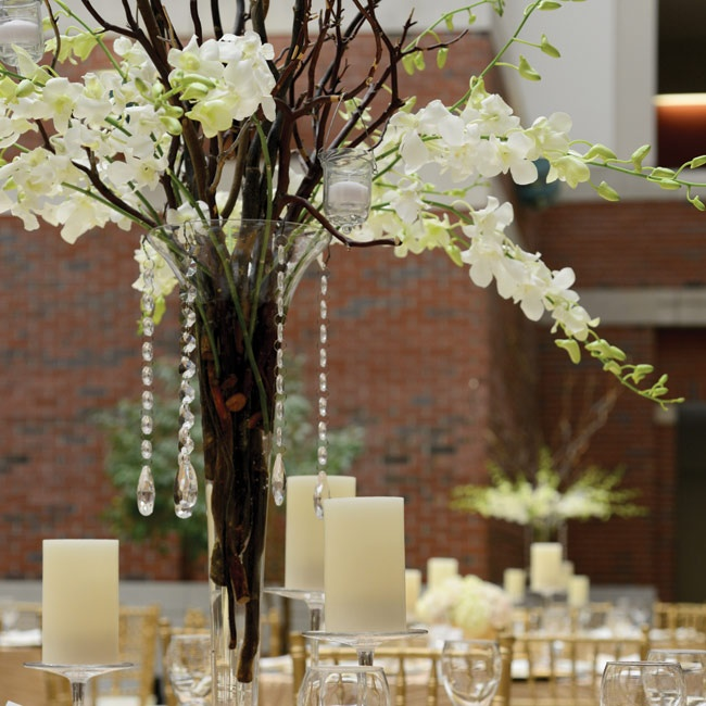 Gold chargers, large