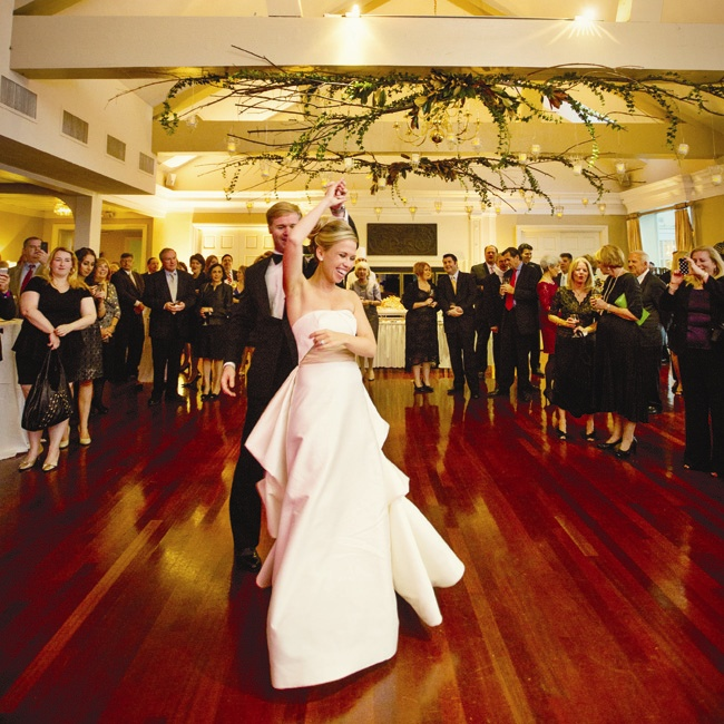 The couple's first