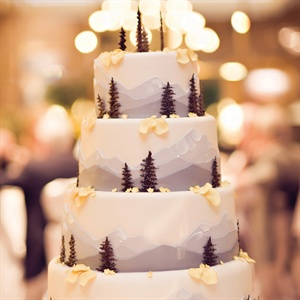 Rocky Mountain Themed Cake