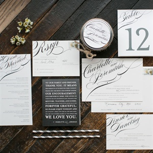 Elegant Wedding Stationery