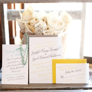 Cardstock Invitation Suite