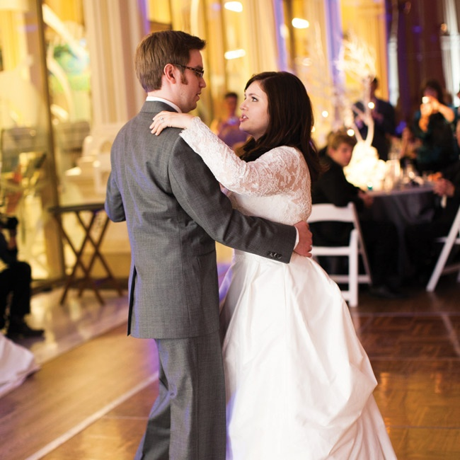 "Amanda and Jonathon danced to ""Love