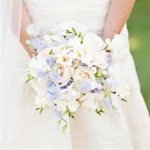 Pastel Spring Floral Bridal Bouquet