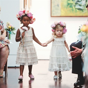 The two flower girls