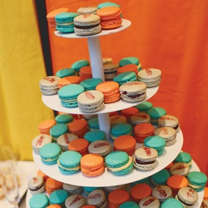 French macarons from one