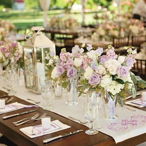 Elegant Country Chic Reception Decor