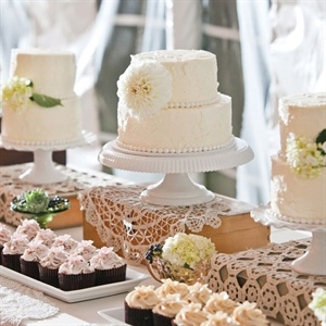 Cake and Cupcake Table