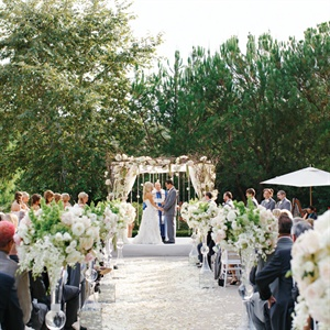 Shady Canyon Golf Club Outdoor Ceremony Site