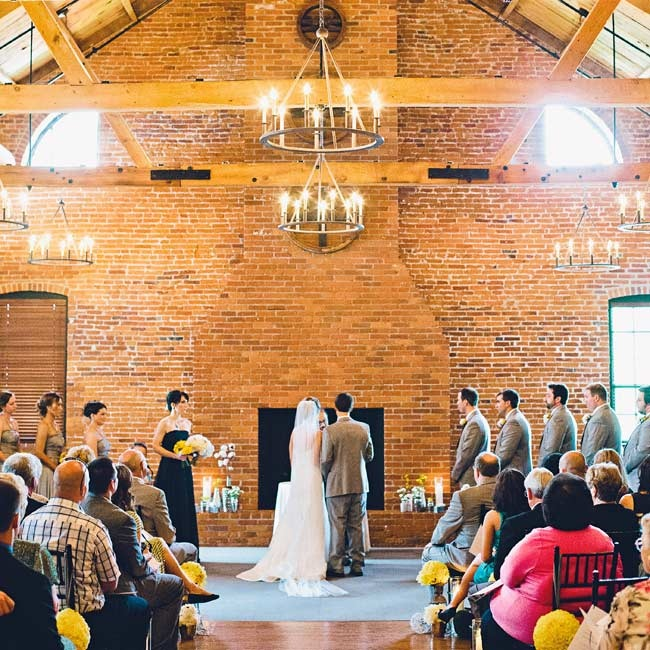 Exposed brick, wooden