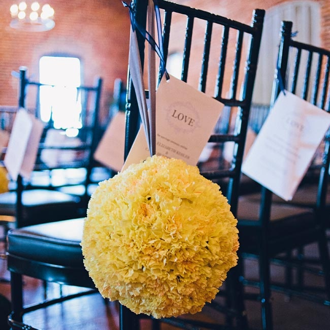 Ceremony programs were