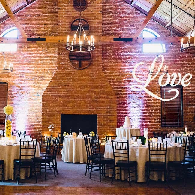 Projected onto the brick