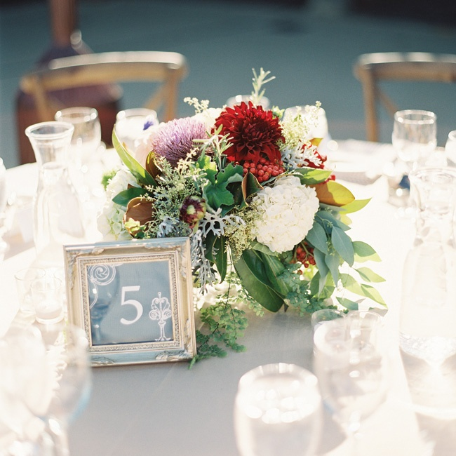 The larger centerpieces