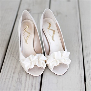 White Nina Bridal Shoes