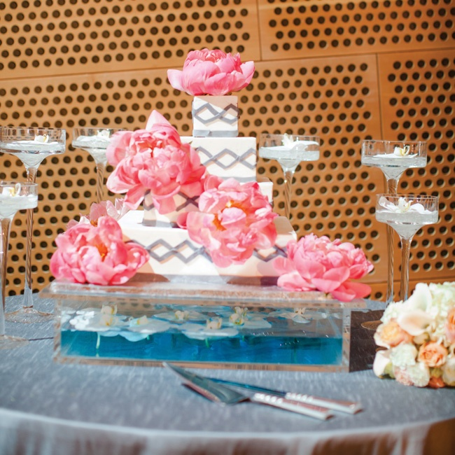 The four-tiered buttercream