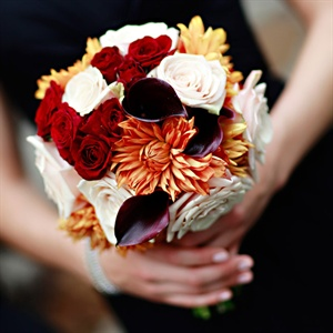Rose and Dahlia Bouquets