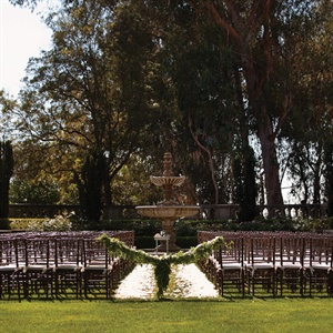 Greystone Mansion Outdoor Ceremony Site