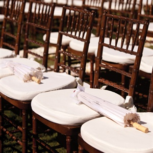 Guests found parasols