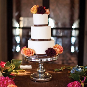 The understated cake was