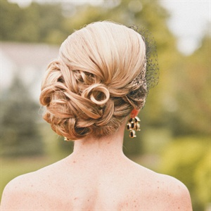 Side Bun Bridal Hairstyle