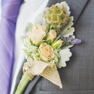 Rustic Wildflower Boutonniere