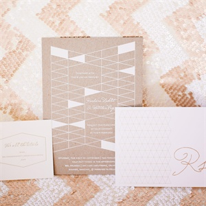 Elegant Contemporary Invitation Suite